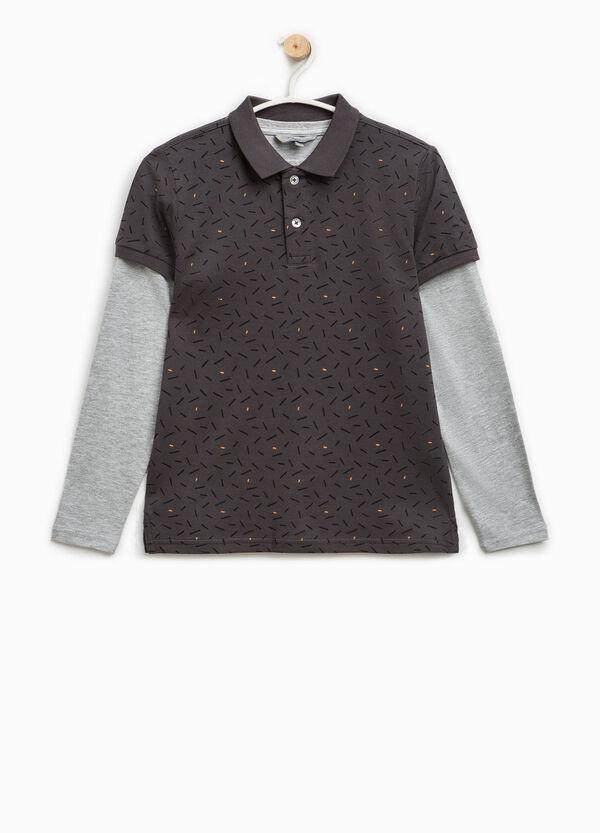 Polo con camiseta interior de manga larga | OVS