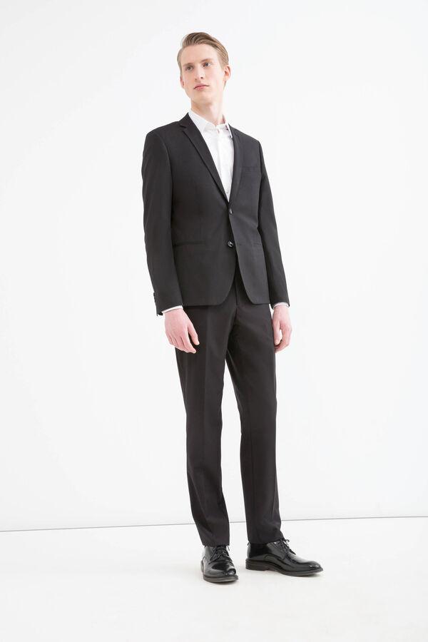 Slim fit stretch viscose blazer | OVS