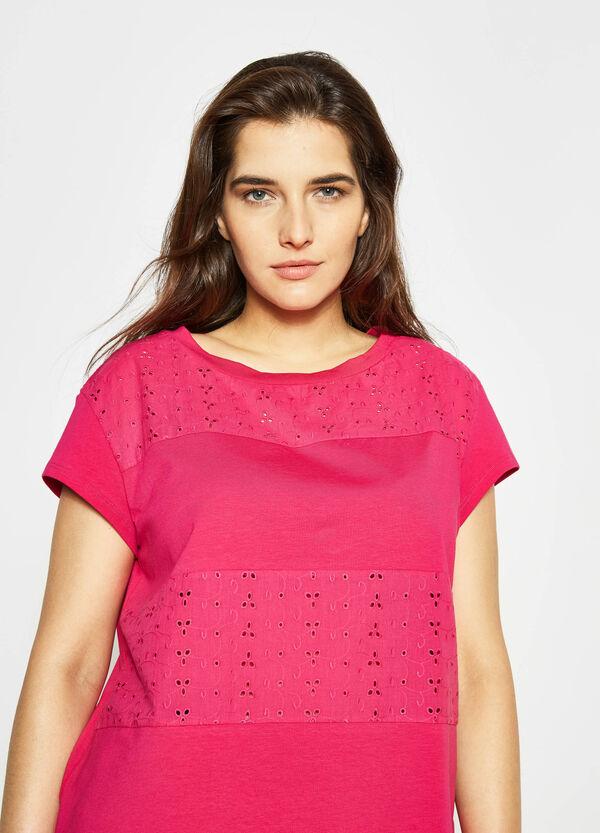 Curvy openwork T-shirt | OVS