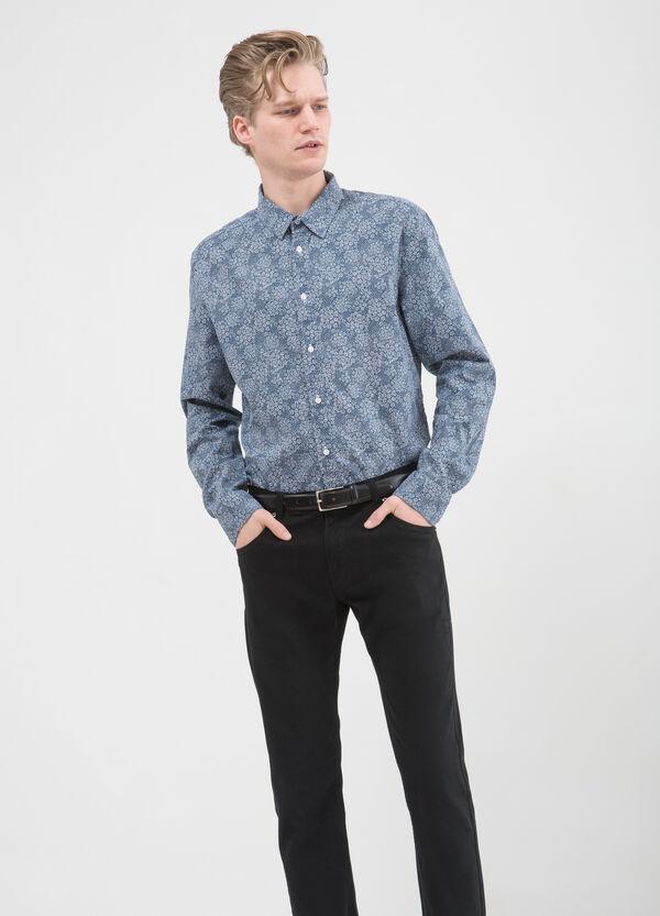 Camicia stampata puro cotone | OVS