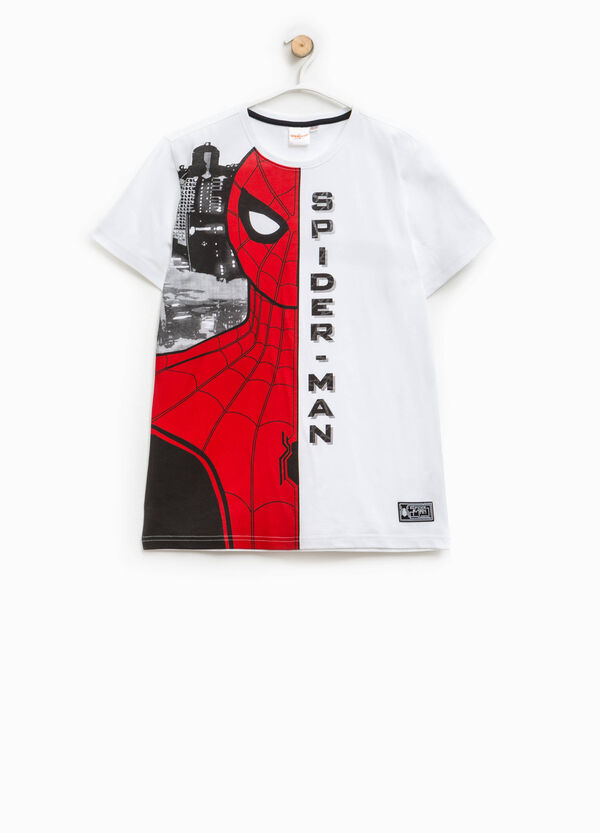 T-shirt cotone maxi stampa Spiderman   OVS