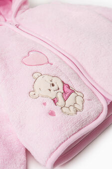 Solid colour Winnie the Pooh jacket, Pink, hi-res