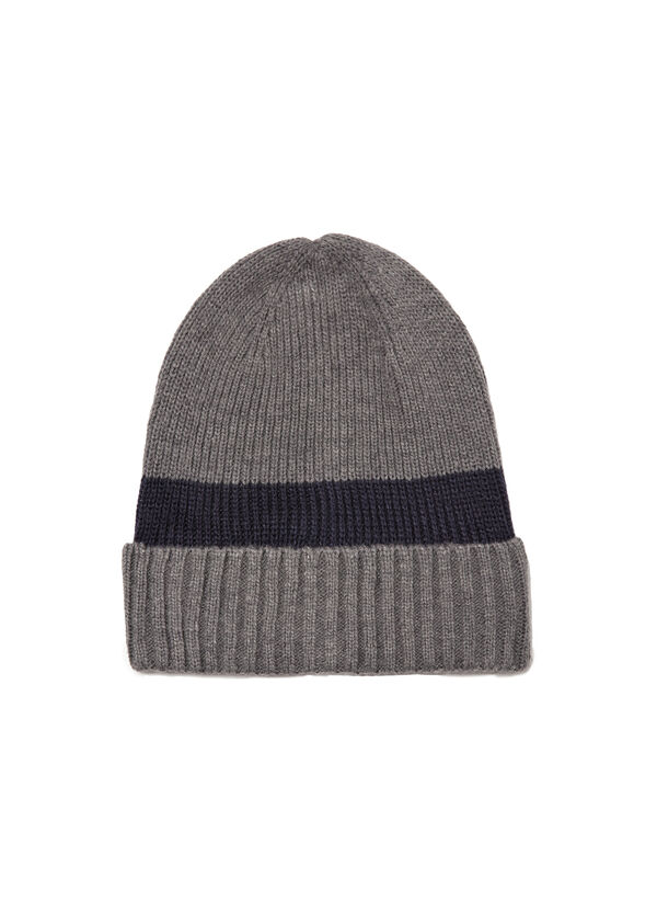 Ribbed beanie cap | OVS