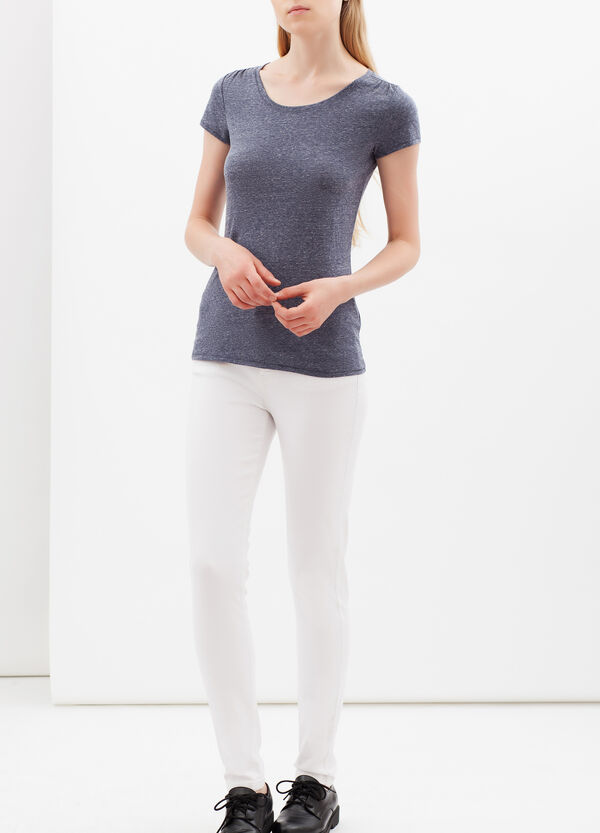 T-shirt with round neck | OVS