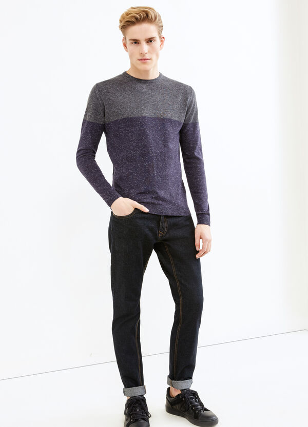 Pullover lana e viscosa mélange | OVS