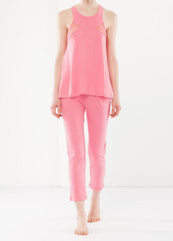 Pyjamas with mesh details | OVS