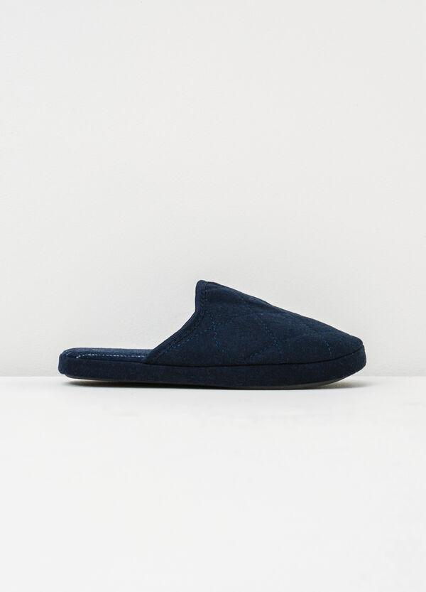 Pantofole con cuciture a contrasto | OVS