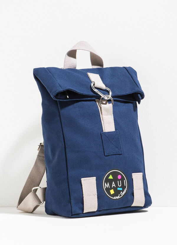 Backpack with contrasting inserts by Maui and Sons | OVS