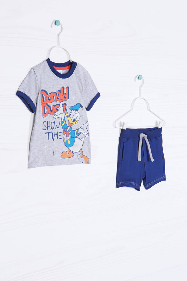 Cotton outfit with Donald Duck print | OVS