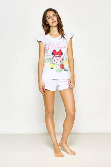 100% cotton Minnie Mouse print pyjamas