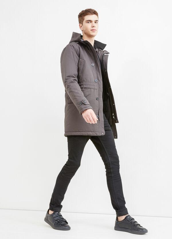 Cazadora de algodón con capucha | OVS