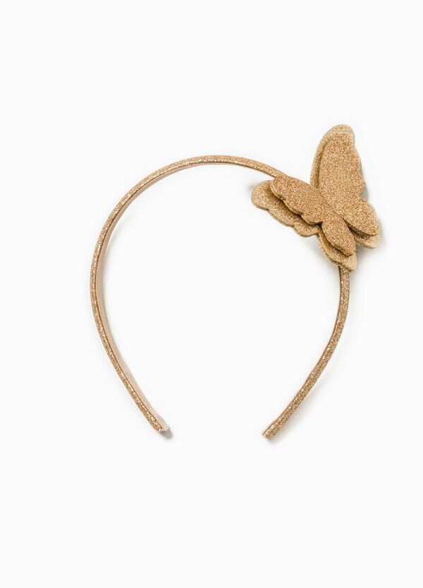 Glitter hairband with butterfly | OVS