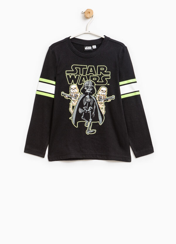 Star Wars print 100% cotton T-shirt | OVS