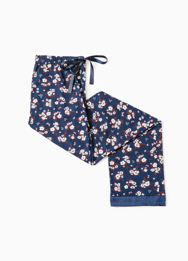 Pyjama trousers with floral print | OVS