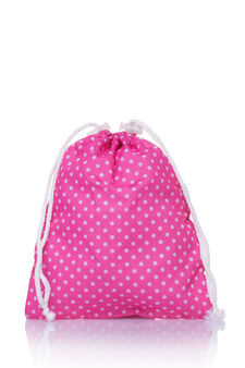 Waterproof carry-all bag, White/Pink, hi-res