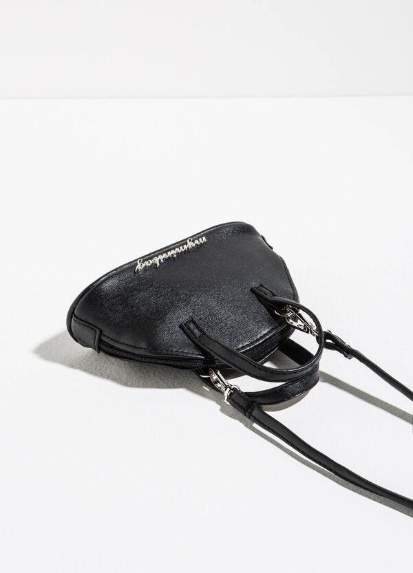 Mini shoulder bag with lettering insert | OVS