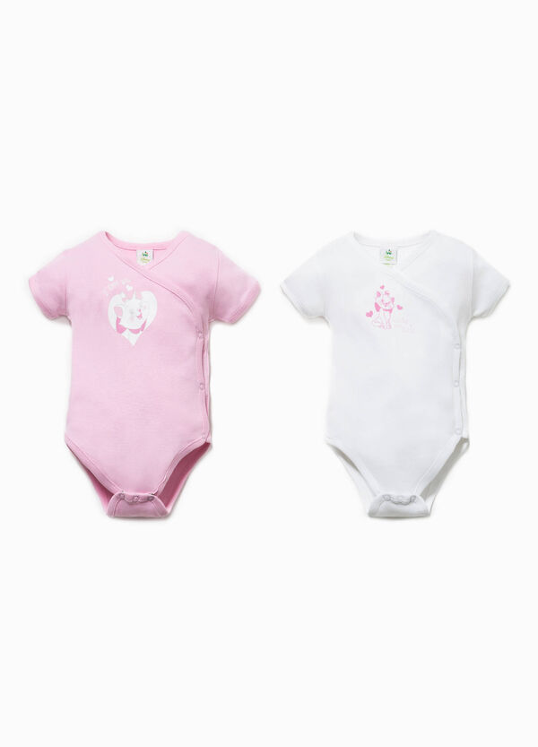 Two-pack Aristocats print bodysuits | OVS