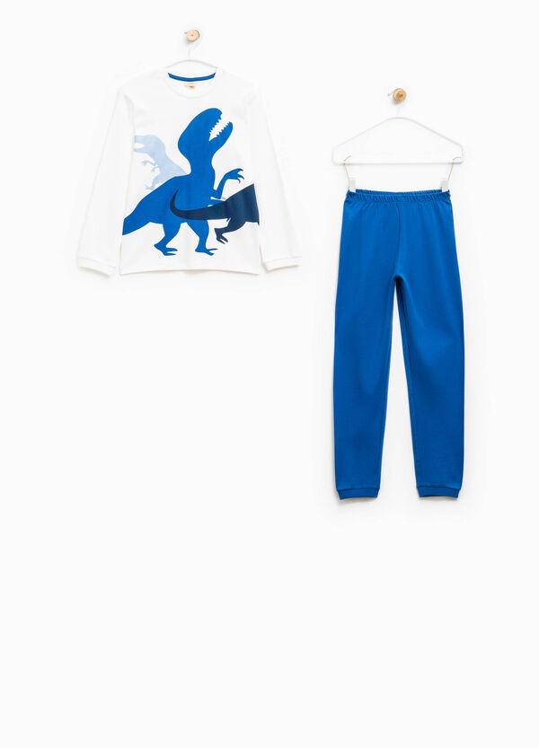 Pyjamas with maxi dinosaur print | OVS