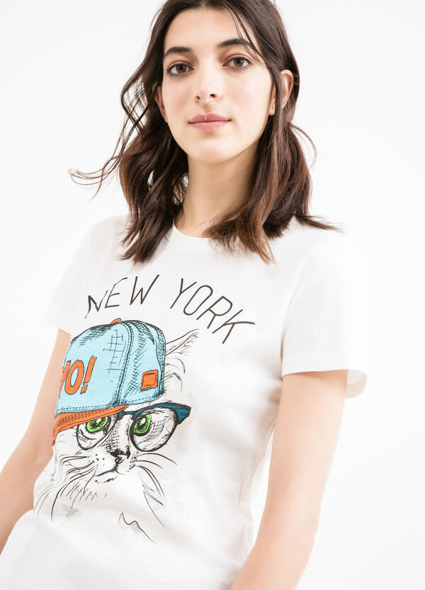 T-shirt stampata puro cotone | OVS