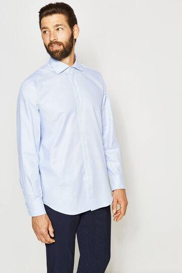 Camisa formal regular fit con fantasía