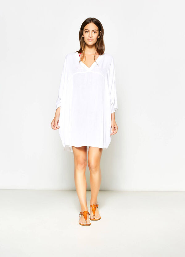 Kaftan with three-quarter sleeves | OVS