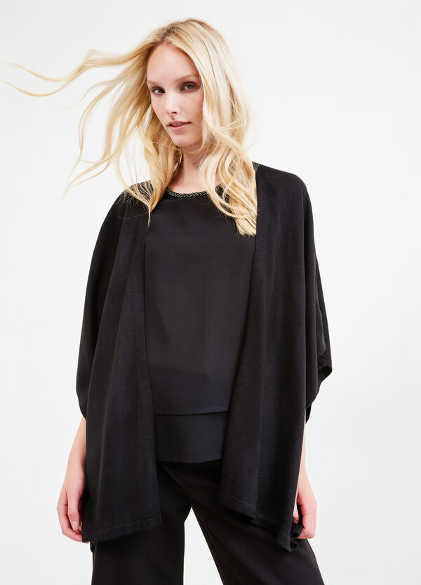 Cape with buttonless opening | OVS