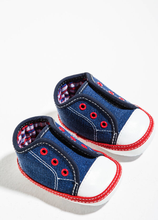 Sneakers con cuciture a contrasto | OVS
