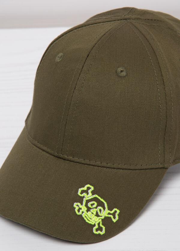 Cappello da baseball cotone ricamo | OVS