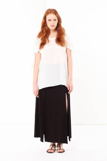 Curvyglam long skirt, Black, hi-res