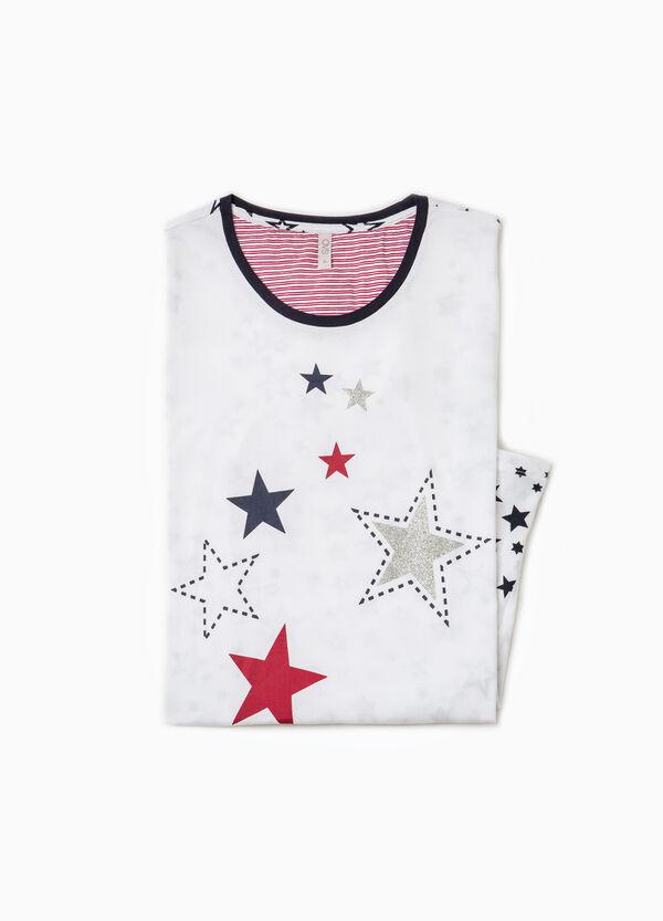 Nightshirt with star pattern | OVS