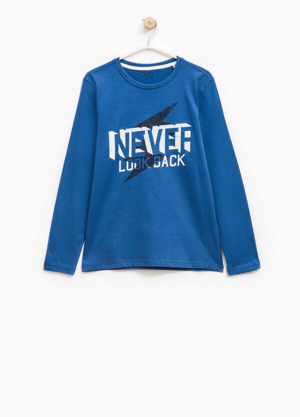 Camiseta en algodón 100% con estampado | OVS