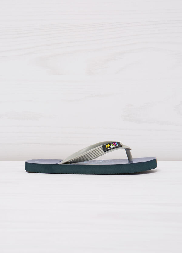 Thong sandals with print by Maui and Sons | OVS