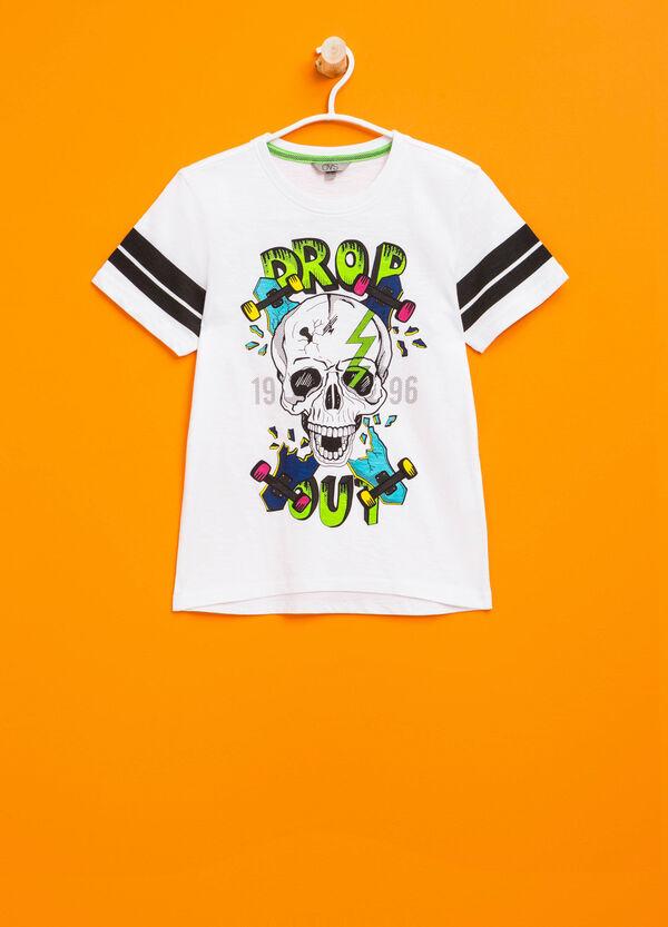 T-shirt stampata in puro cotone | OVS