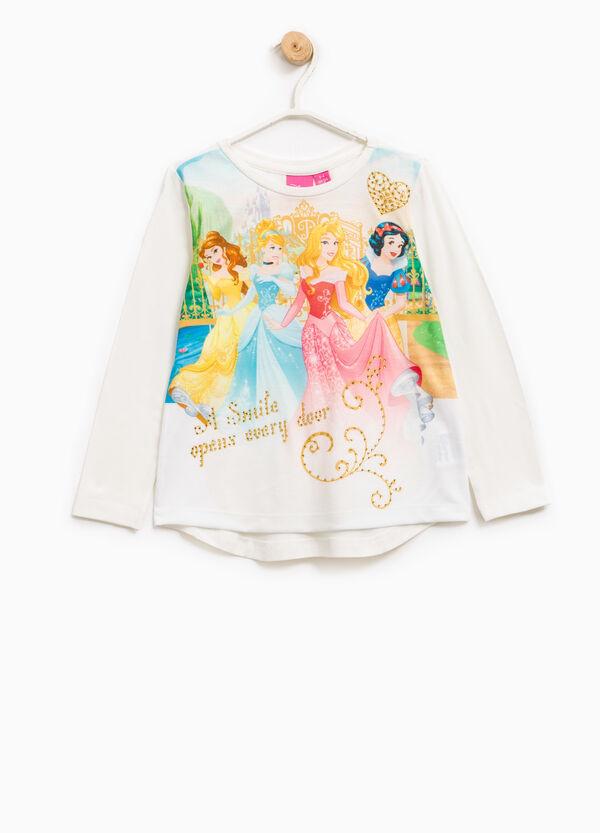 T-shirt with Disney Princess maxi print | OVS