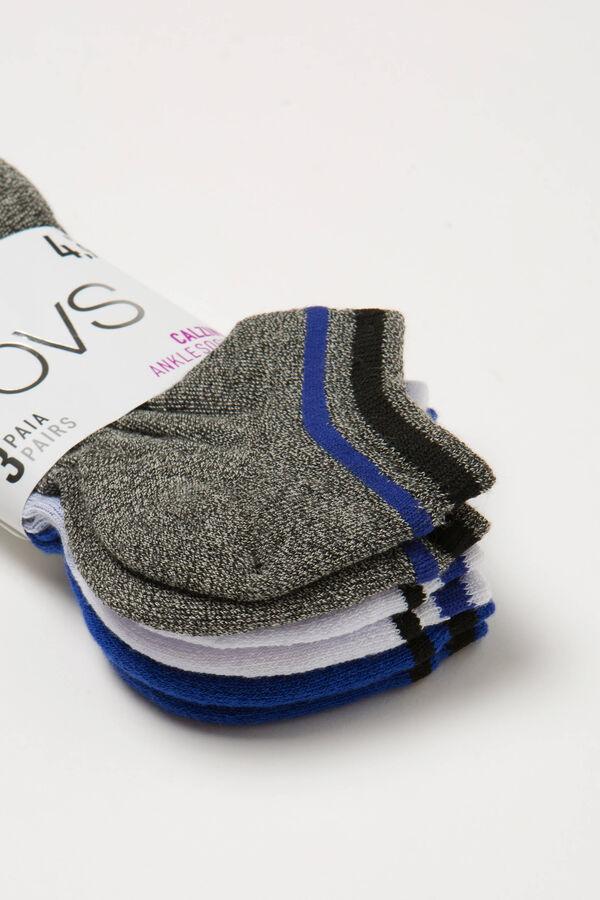 Set tre paia di calze corte stretch | OVS