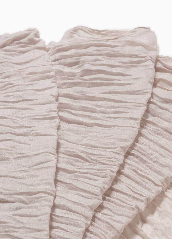 Creased effect fabric | OVS