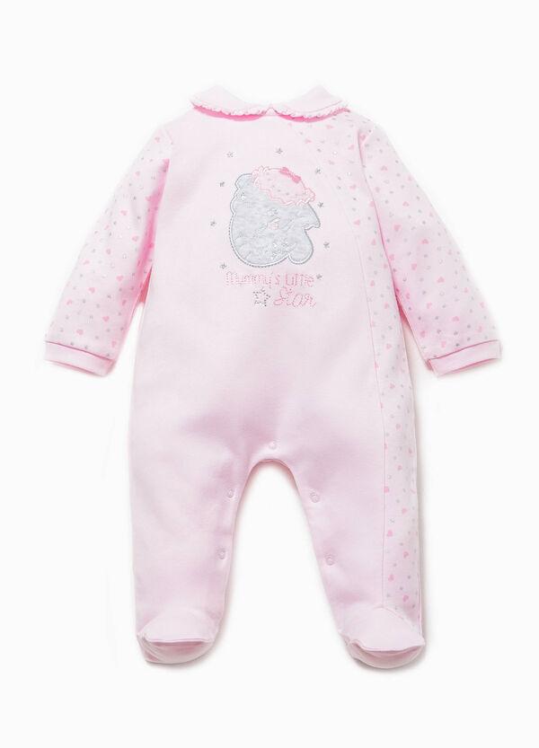 100% cotton onesie with Dumbo patch | OVS
