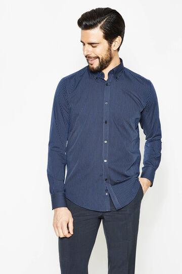 Camicia formale slim fit fantasia a righe