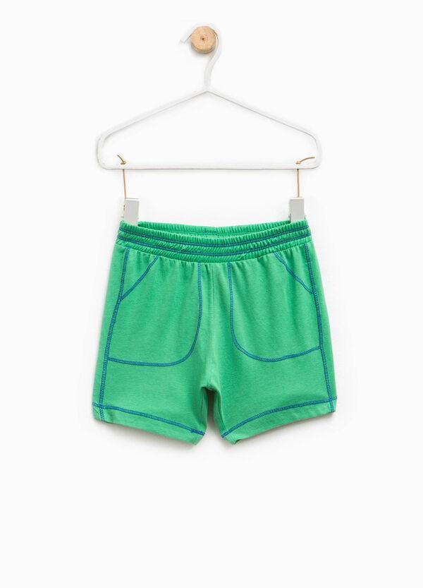 Pantaloncini in puro cotone | OVS