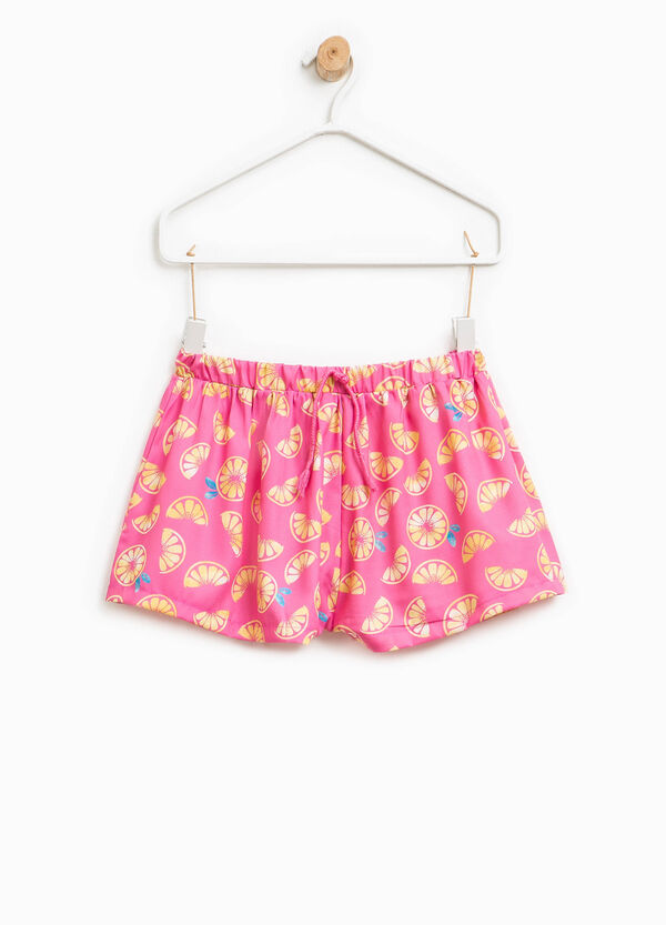 Fruit patterned shorts | OVS