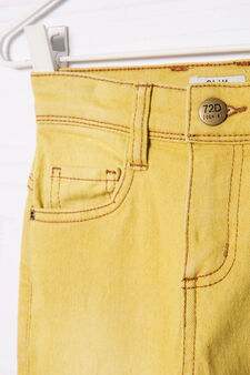 Slim-fit stretch jeans, Yellow, hi-res