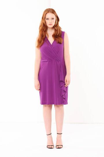 Curvyglam dress, Bright Purple, hi-res