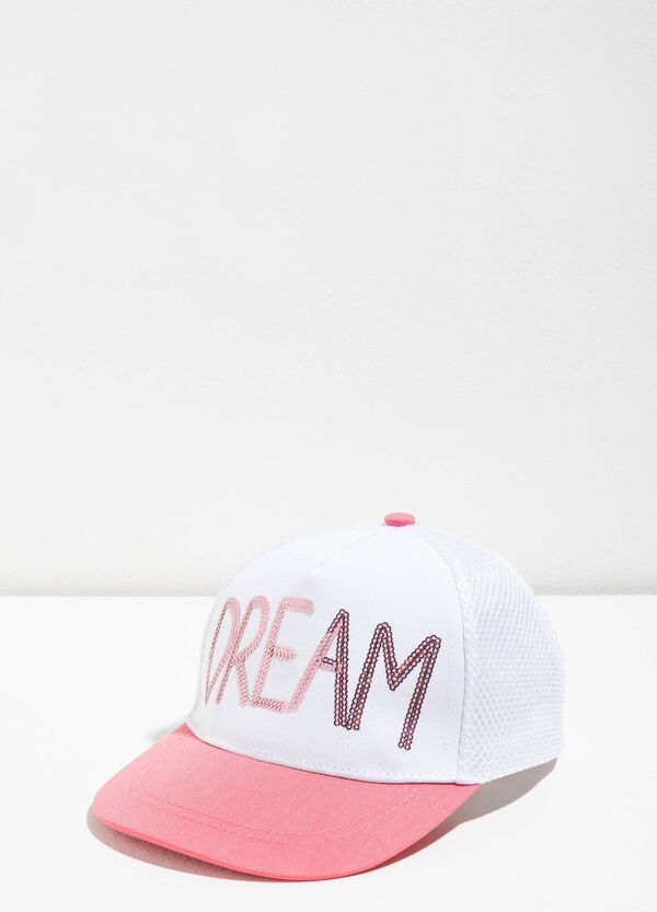 Baseball cap with sequins | OVS