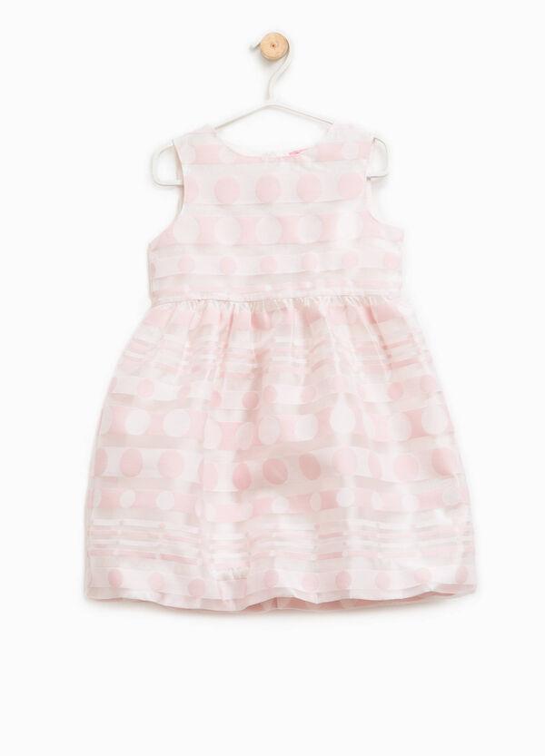 Striped and polka dot sleeveless dress | OVS