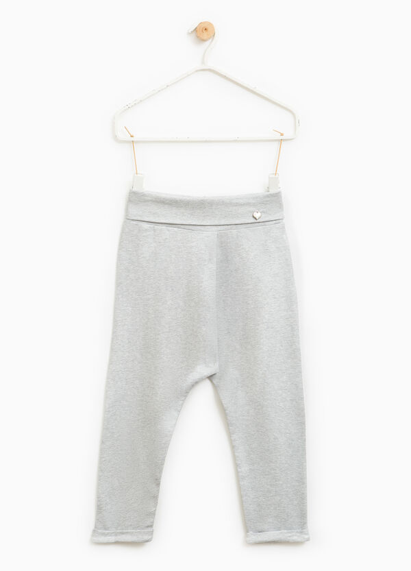 Stretch joggers with pendant | OVS