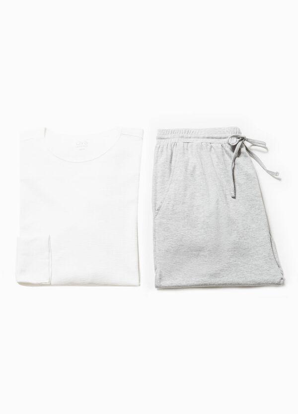 Pijama en algodón 100% de color liso | OVS