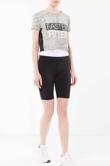 Cycling-style shorts, Black, hi-res