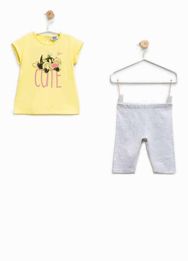 Outfit with Sylvester the Cat print | OVS
