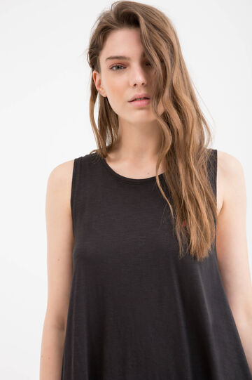 Sleeveless dress by Maui and Sons, Black, hi-res