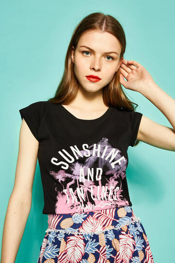 Printed T-shirt by Maui and Sons